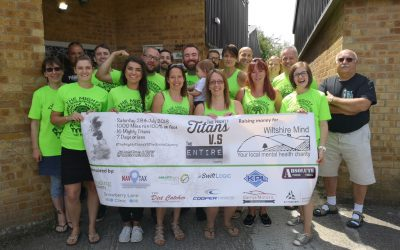 Charity challenge in aid of Wiltshire Mind